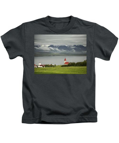 Church In Akureyri Kids T-Shirt
