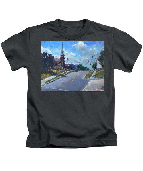 Church In Georgetown Downtown  Kids T-Shirt