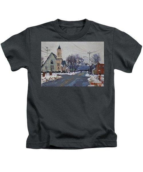 Church In North Tonawanda Kids T-Shirt