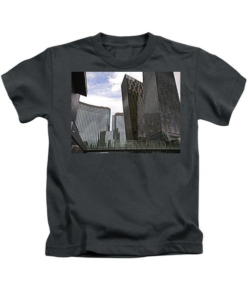 City Center At Las Vegas Kids T-Shirt