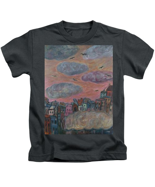 City Of Clouds Kids T-Shirt