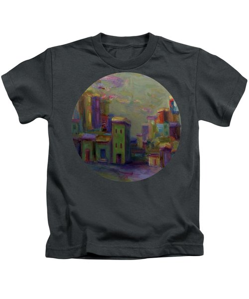 City Of Color And Light Kids T-Shirt