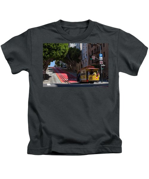 Clang Clang Goes The Cable Car Kids T-Shirt