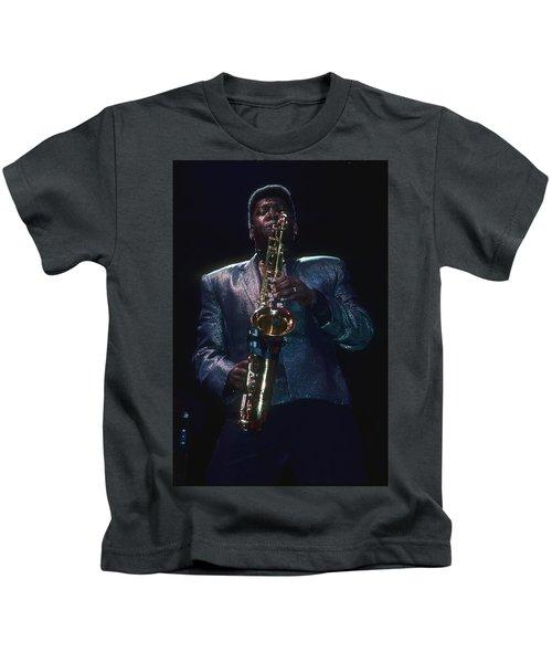 Clarence Clemons Kids T-Shirt