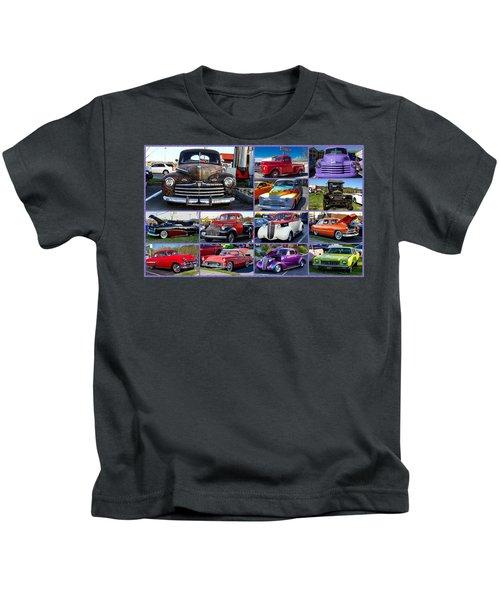 Classic Cars Kids T-Shirt