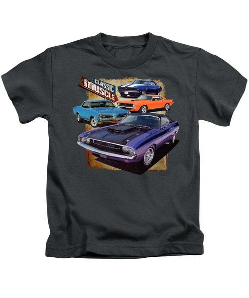Classic Muscle Kids T-Shirt