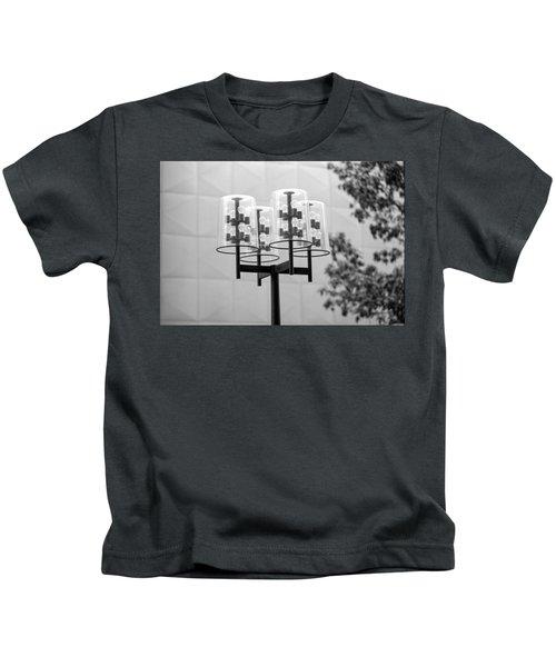 Classic Nicollet Mall Street Lamp Kids T-Shirt