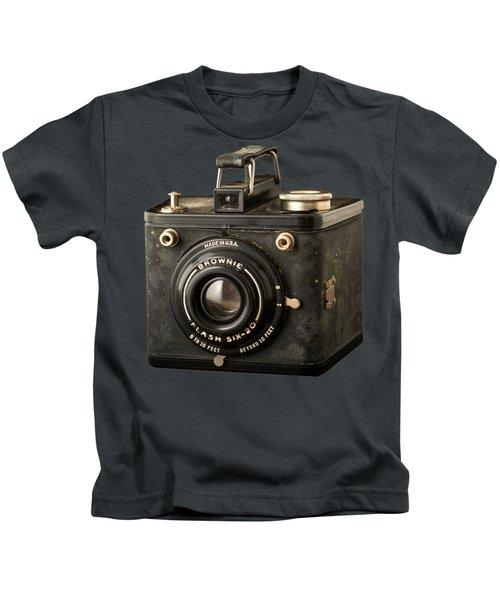 Classic Vintage Kodak Brownie Camera Tee Kids T-Shirt