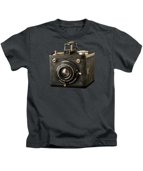 Classic Vintage Kodak Brownie Camera Tee Kids T-Shirt