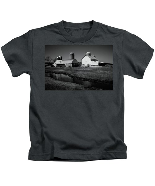 Classic Wisconsin Farm Kids T-Shirt