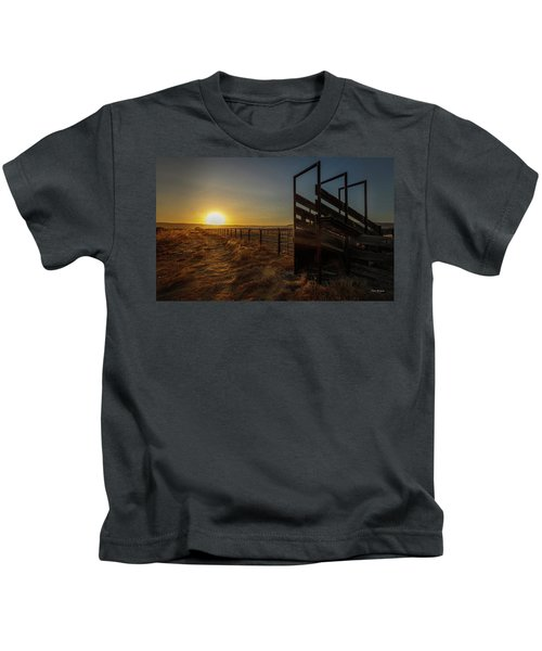 Clear Day Coming Kids T-Shirt