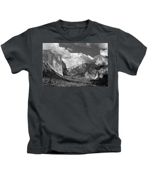 Clearing Skies Yosemite Valley Kids T-Shirt