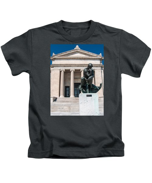 Cleveland Museum Of Art, The Thinker Kids T-Shirt