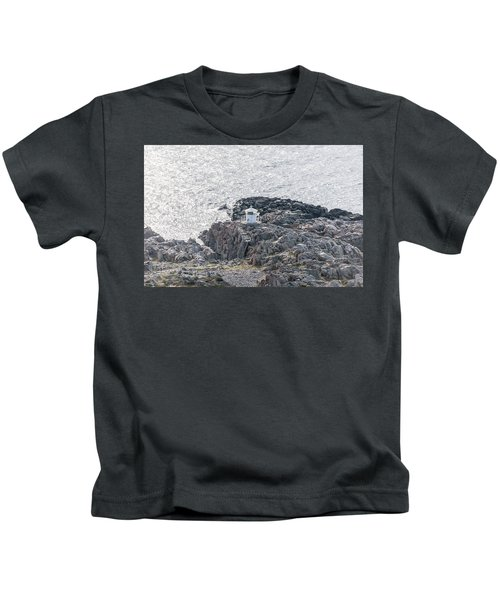 Cliffs At Kullaberg Kids T-Shirt