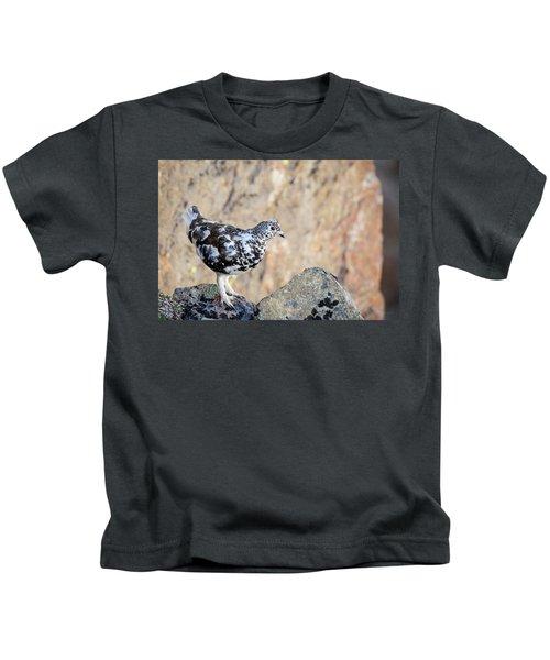 Cliffside Ptarmigan Kids T-Shirt