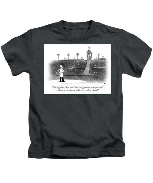 Closing Time Kids T-Shirt