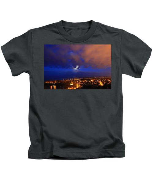 Clouded Eclipse Kids T-Shirt