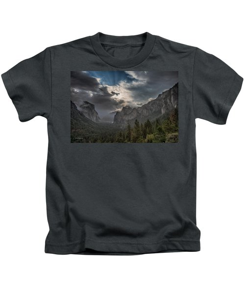 Clouds And Light Kids T-Shirt