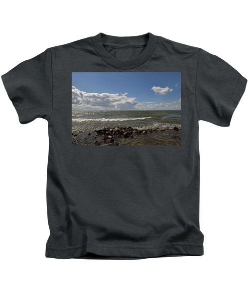 Clouds Over Sea Kids T-Shirt