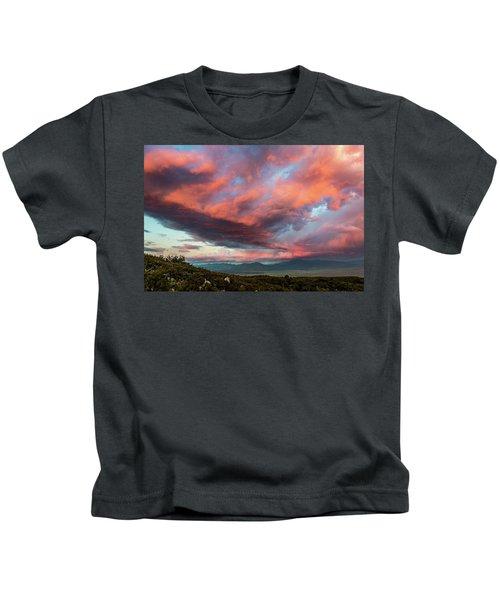 Clouds Over Warner Springs Kids T-Shirt