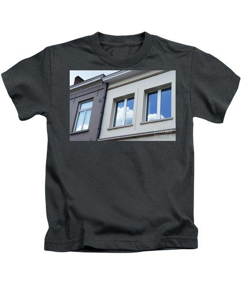 Cloudy Windows Kids T-Shirt