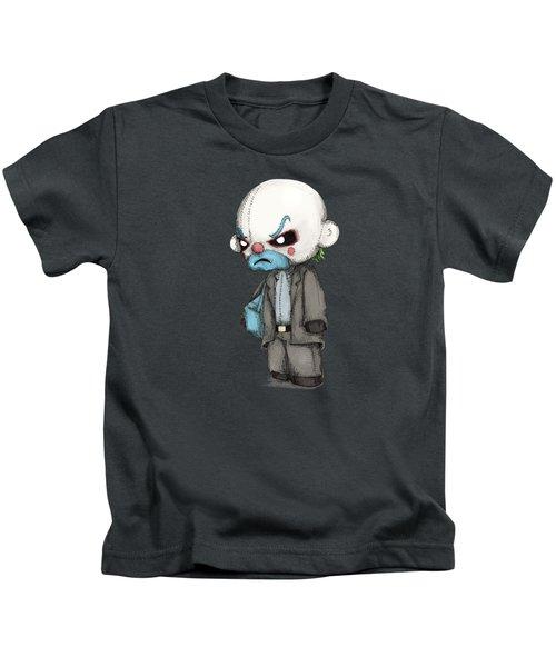 Clown Bank Robber Plush Kids T-Shirt