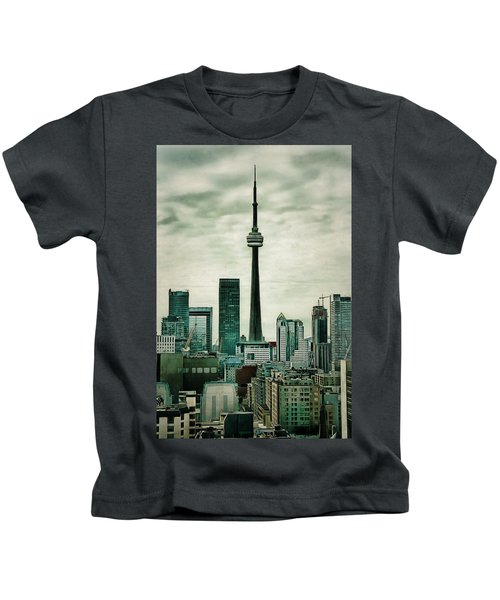 Cn Tower Kids T-Shirt