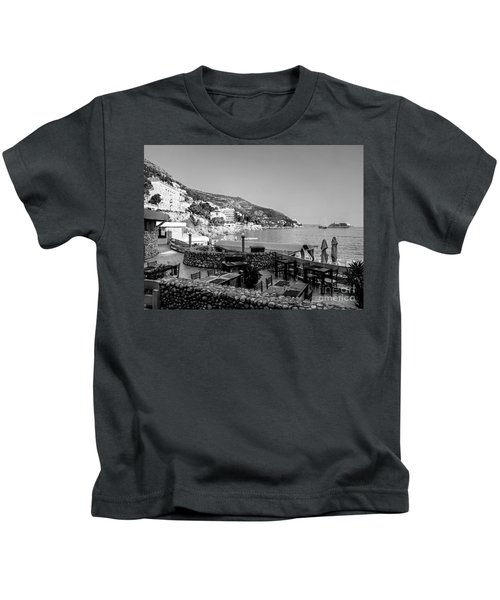 Coast Of Dubrovnik Kids T-Shirt