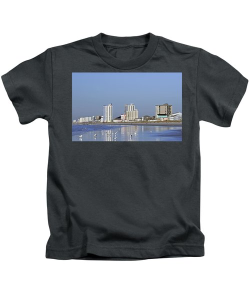Coastal Architecture Kids T-Shirt
