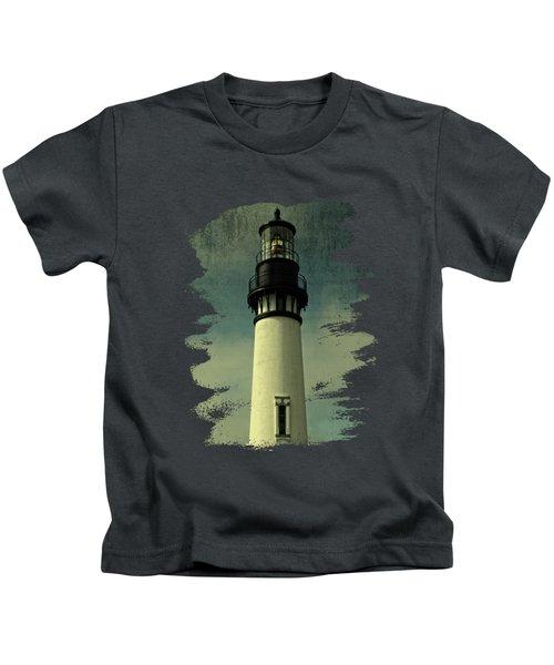 Coastal Breeze At Yaquina Head Kids T-Shirt