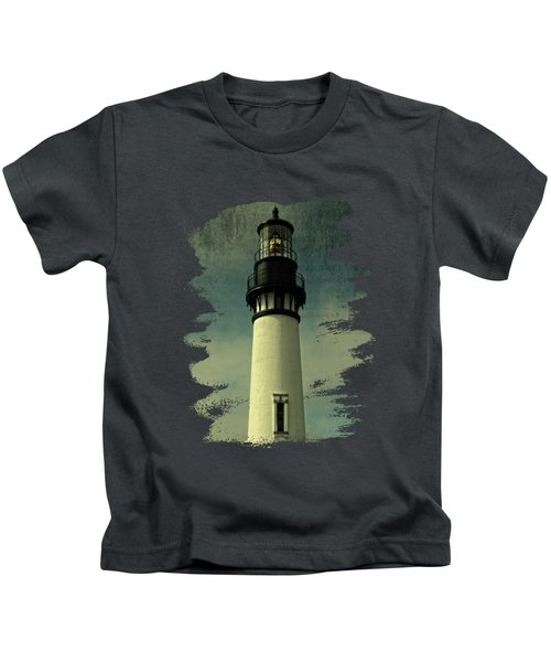 Coastal Breeze At Yaquina Head Kids T-Shirt