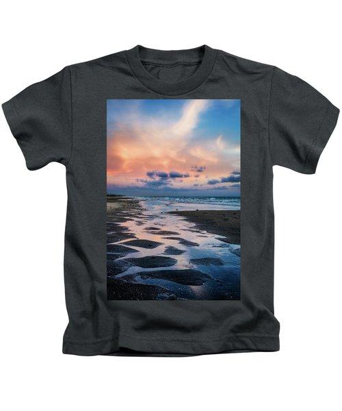 Coastal Low Tide Kids T-Shirt