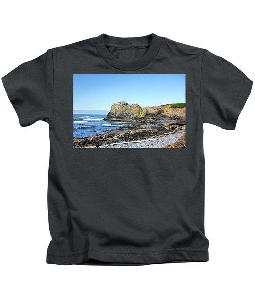 Cobblestone Beach Kids T-Shirt
