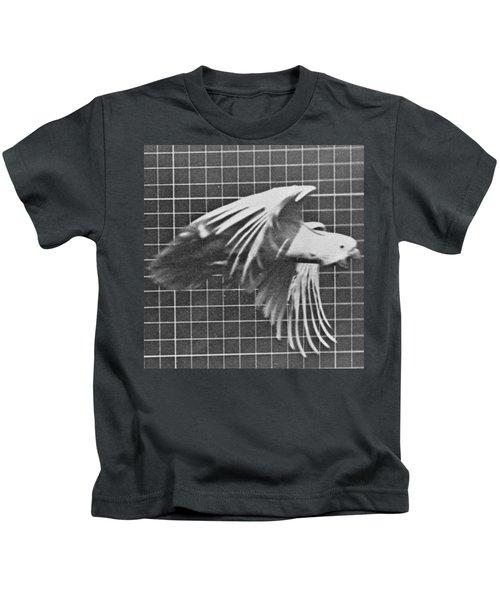 Cockatoo In Flight Kids T-Shirt