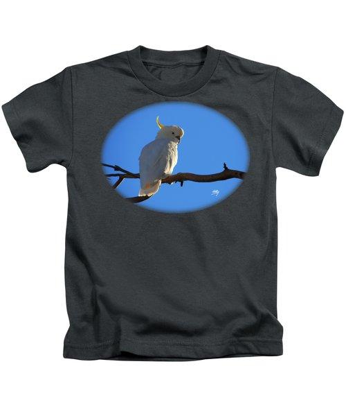 Cockatoo Kids T-Shirt by Linda Hollis