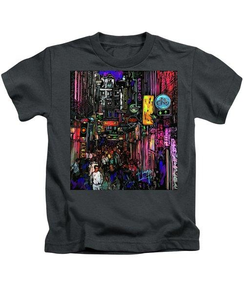 Coffee Shop, Amsterdam Kids T-Shirt