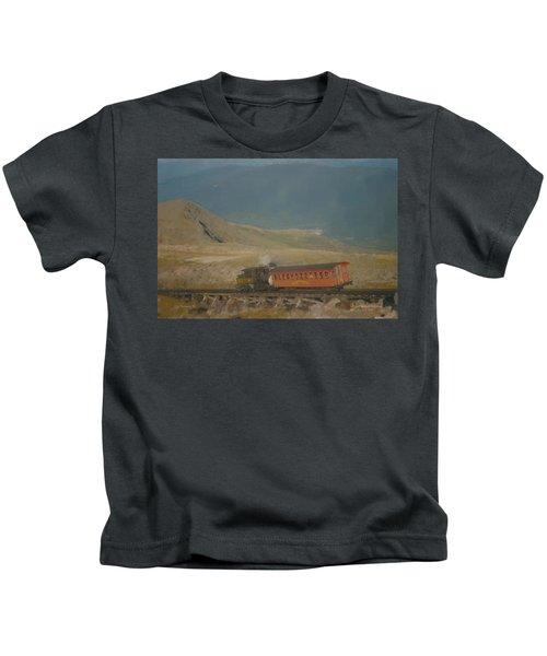 Cog Railway Mount Washington Kids T-Shirt