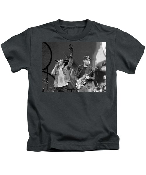 Coldplay 14 Kids T-Shirt by Rafa Rivas
