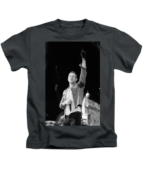 Coldplay 16 Kids T-Shirt by Rafa Rivas