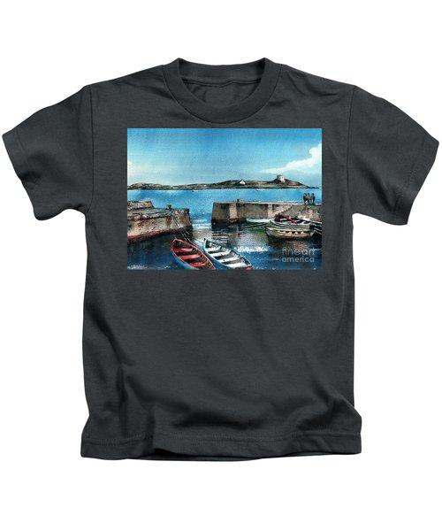 Coliemore Harbour, Dalkey, Dublin Kids T-Shirt