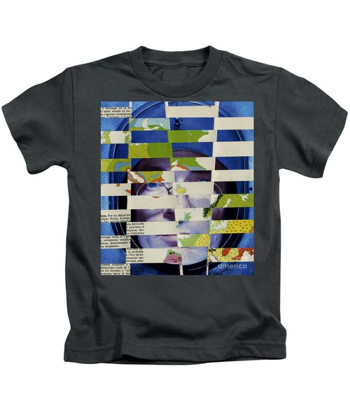 Collage Verso Kids T-Shirt
