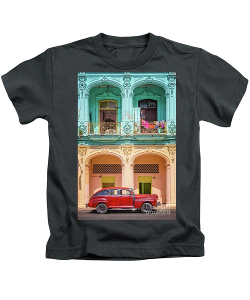 Colonial Architecture Kids T-Shirt