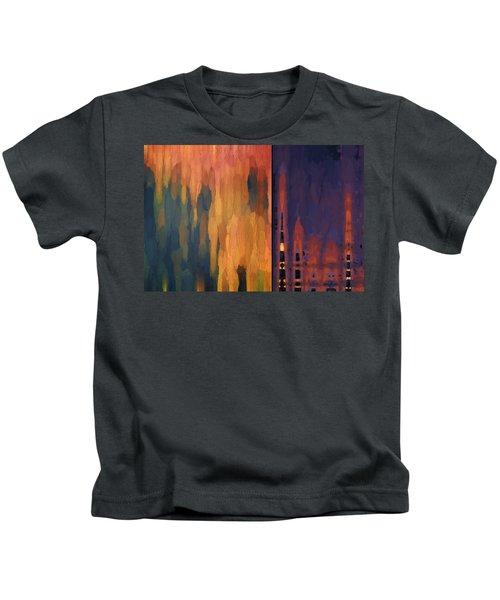 Color Abstraction Liv Kids T-Shirt