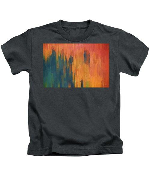Color Abstraction Xlix Kids T-Shirt