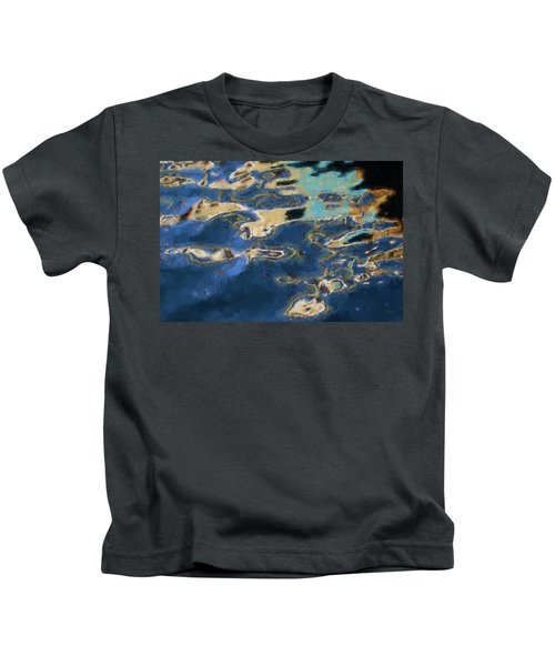 Color Abstraction Xxxvii - Painterly Kids T-Shirt