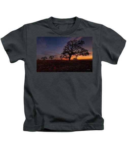 Color Change At First Light Kids T-Shirt