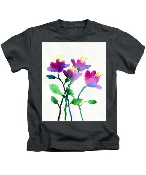 Color Flowers Kids T-Shirt