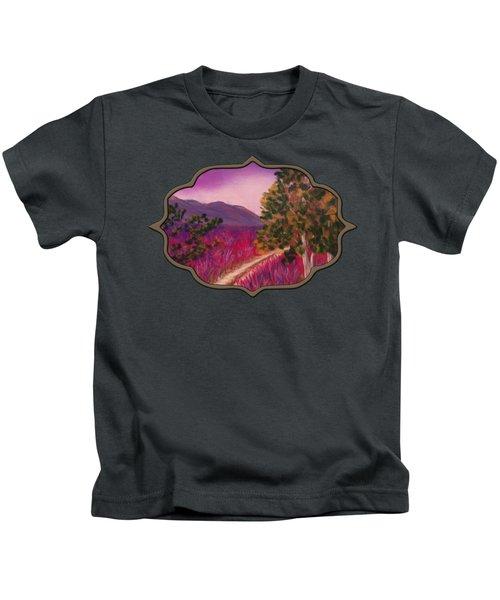 Color It Purple Kids T-Shirt