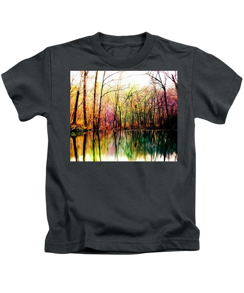 Colorful Reflections Kids T-Shirt