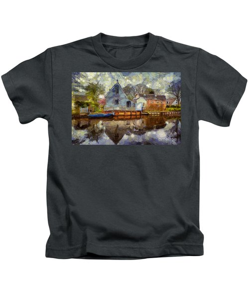 Colorful Serenity Kids T-Shirt